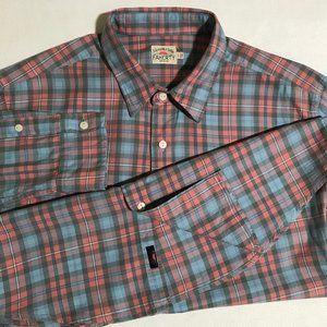 Men's Faherty Long Sleeve Button Front Shirt